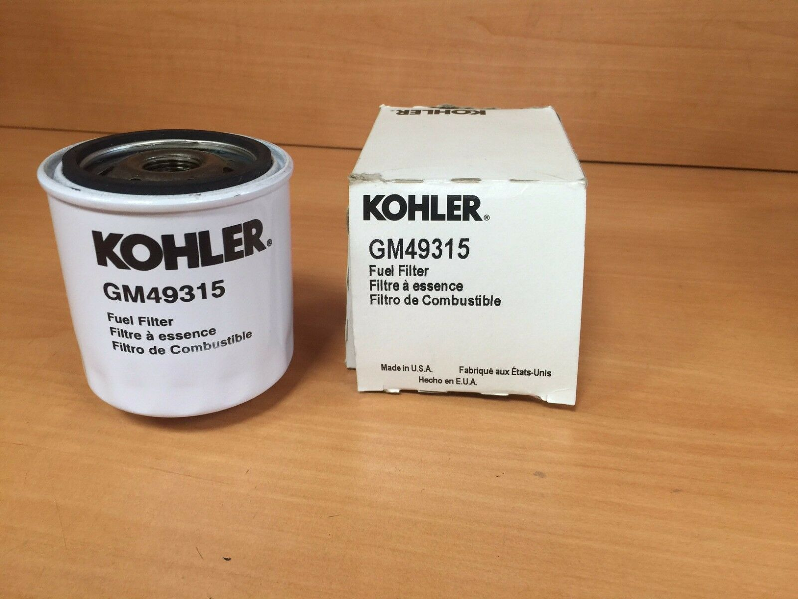 Kohler GM49315 Fuel Filter Genuine
