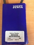Volvo Penta 3852336 V-Belt Genuine OEM