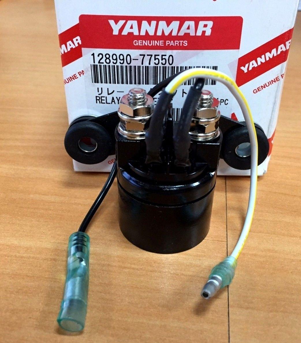 Yanmar Genuine 12v Starter Magnetic Relay 128990