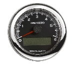 Genuine Volvo Penta Tachometer with LCD 0-6, 000 RPM