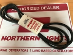 Northern Lights 40-01603 DRIVE BELT SET OF TWO 1/2
