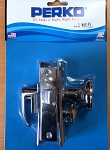 Perko 0960DP0CHR Mortise Lock Set Chrome Plated Zinc Alloy New Genuine OEM