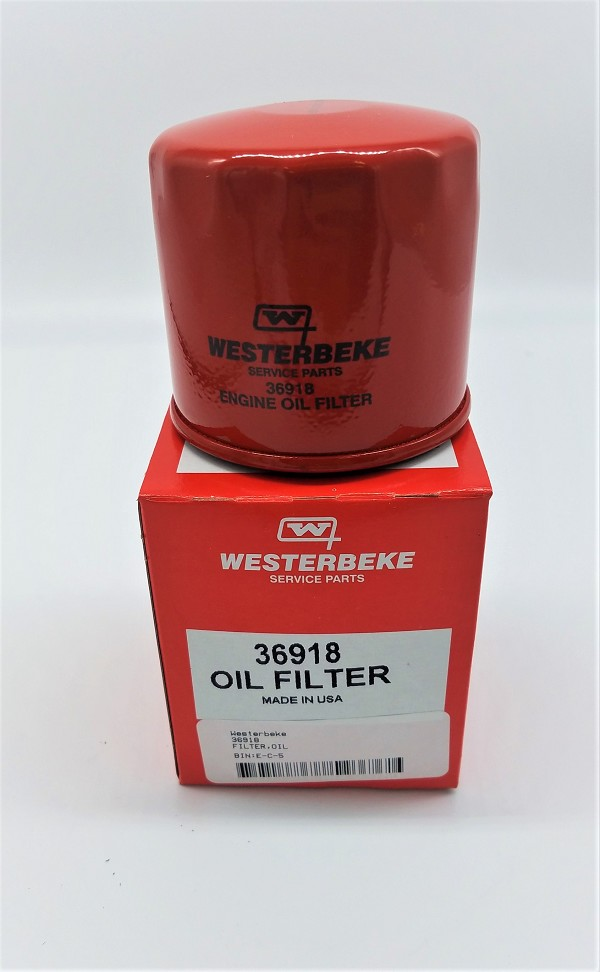 Genuine New Westerbeke Filter Oil 36918 036918