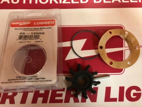 Northern lights 25-12009 Impeller Kit with Gasket & O-Ring Pump 25-12007