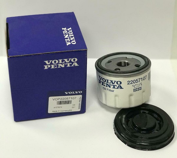 volvo penta oil filter 22057107 replaces 834337 ips 31